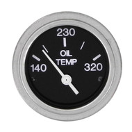 Sierra 80596P Heavy Duty Series Oil Temp Gauge