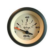 Sierra 59705P Sahara Series Oil Pressure Gauge