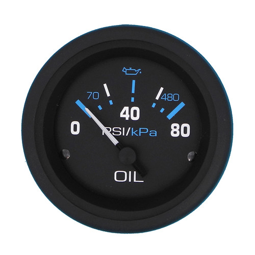 Sierra 68392P Eclipse Series Oil Pressure Gauge