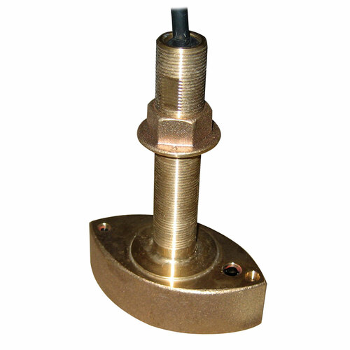 Furuno 525T-BSD Bronze Thru-Hull Transducer w\/Temp, 600W (10-Pin)