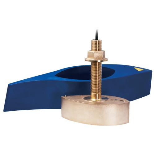 Furuno 526T-HDD Bronze Broadband Thru-Hull Transducer w\/Temp, Built-In Diplexer & Hi-Speed Fairing Block 1kW (10-Pin)