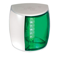 Hella Marine NaviLED PRO Starboard Navigation Lamp - 2nm - Green Lens\/White Housing