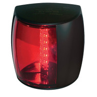 Hella Marine NaviLED PRO Port Navigation Lamp - 3nm - Red Lens\/Black Housing