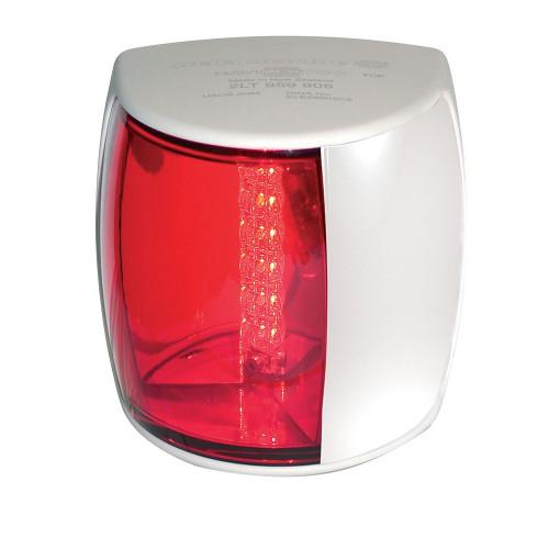 Hella Marine NaviLED PRO Port Navigation Lamp - 3nm - Red Lens\/White Housing