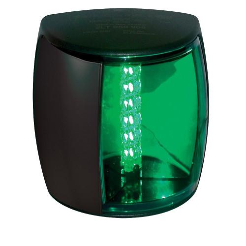 Hella Marine NaviLED PRO Starboard Navigation Lamp - 3nm - Green Lens\/Black Housing