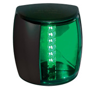 Hella Marine NaviLED PRO Starboard Navigation Lamp - 3nm - Green Lens\/Black Housing