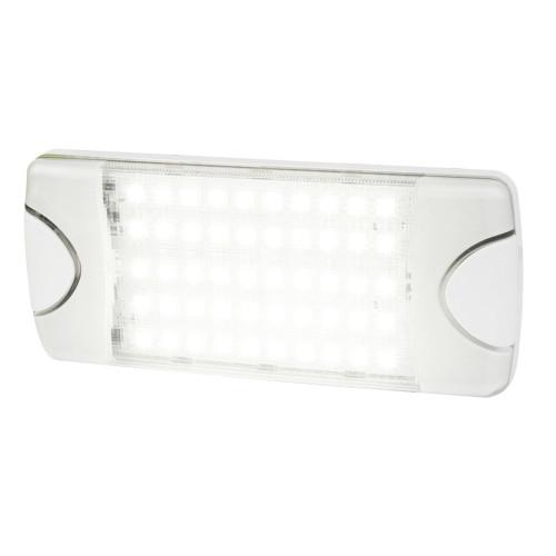 Hella Marine DuraLED 50 Low Profile Interior\/Exterior Lamp - White LED Spreader Beam