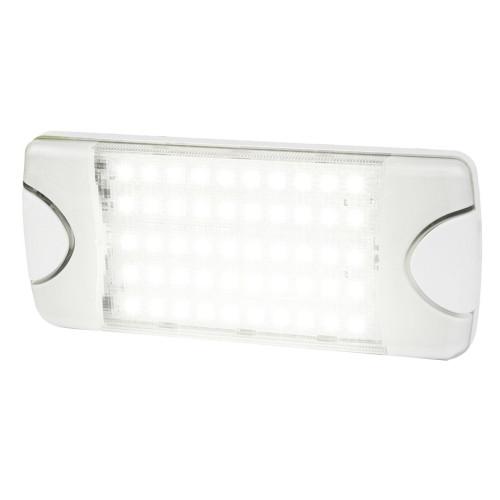Hella Marine DuraLED 50 Low Profile Interior\/Exterior Lamp - Wide White Spreader Beam