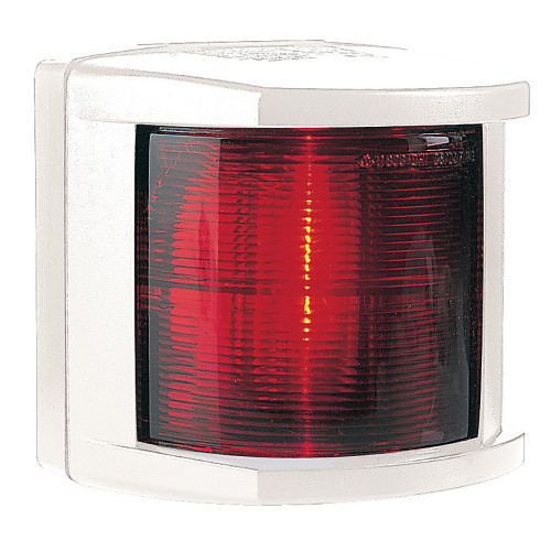 Hella Marine Port Navigation Light - Incandescent - 2nm - White Housing - 12V
