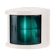 Hella Marine Starboard Navigation Light - Incandescent - 2nm - White Housing - 12V