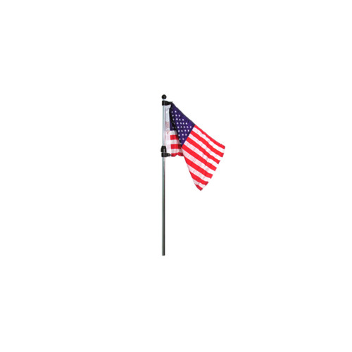 Sea Sense Telescoping Flag Pole w/ U.S. Flag