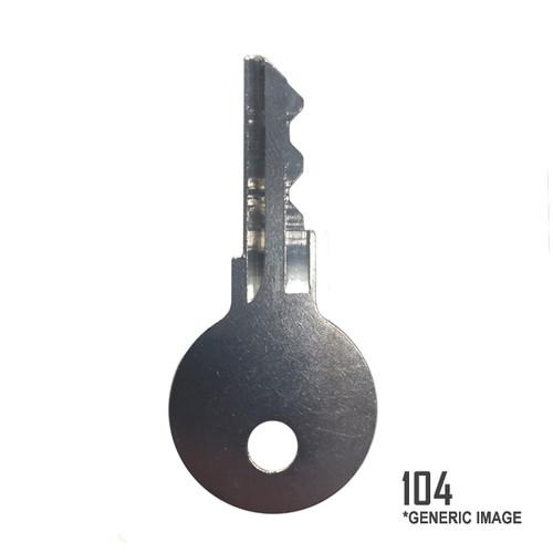 Mercury-Mercruiser 30431104 Key 104