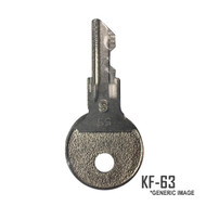 Johnson/Evinrude 0501578 Ignition Key KF-63