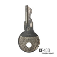 Johnson/Evinrude 0501615 Ignition Key KF-100