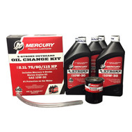 Mercury Marine 2.1L 75/90/115 HP 4-Stroke Oil Change Kit