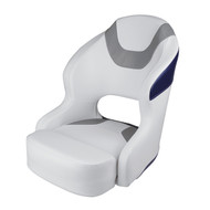 Wise Baja Bucket Seat - Brite White/Marble Grey/Midnight Navy