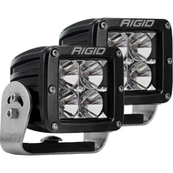 Rigid Industries D-Series PRO - Flood LED - Pair - Black