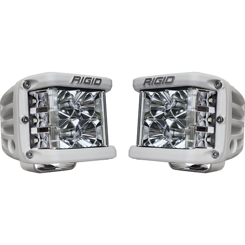Rigid Industries D-SS PRO Flood LED - Pair - White