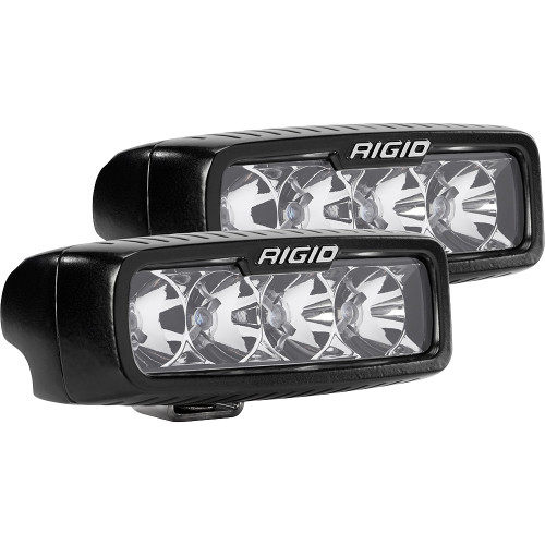 Rigid Industries SR-Q Series Flood LED - Pair - Black