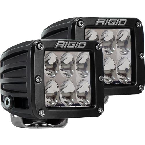Rigid Industries D-Series PRO Specter-Driving LED - Pair - Black