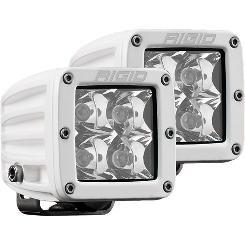 Rigid Industries D-Series PRO Hybrid-Spot LED - Pair - White