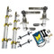 Taco Grand Slam 280 Outrigger Kit - Silver/Gold