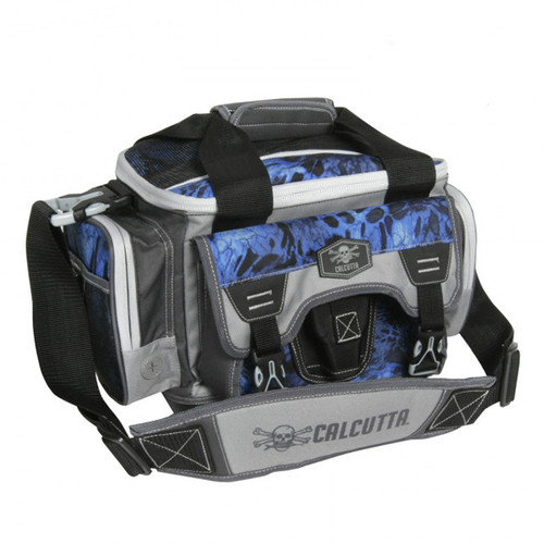 Calcutta 3600 Series Squall Camo Tackle Bag w/ 4 Trays