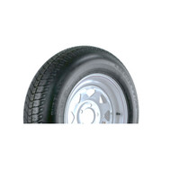 Carrier Star ST205/75D14 5-Hole LRC Trailer Tire-White