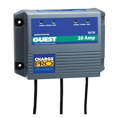 Guest 20A 10/10 2 Bank On-Board Battery Charger
