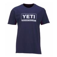 Yeti Billboard T-Shirt Navy - X-Large