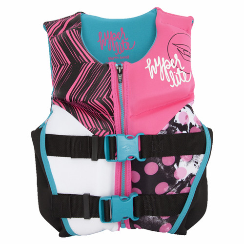 Hyperlite 66015504 Girls Small Youth Indy Neo Vest