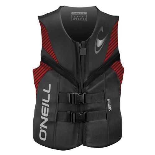 O'Neill Reactor USCG Life Vest - Red/Black
