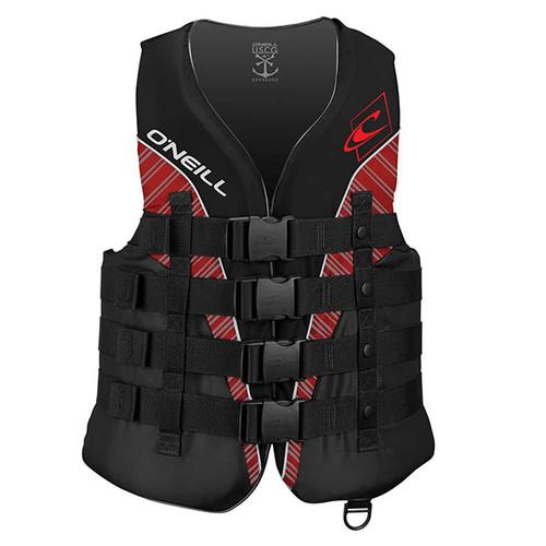 O'Neill Superlite USCG Men's Vest- Black/Red
