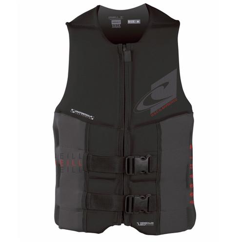 O'Neill Assault USCG Life Vest - Black/Graphic