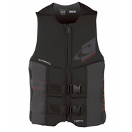 O'Neill Assault USCG Life Vest - Black/Graphic