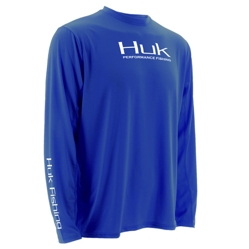Huk Icon Long Sleeve - Royal