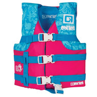 O'Brien Pink Nylon Children's Life Jacket