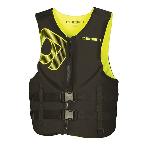O'Brien Men's Traditional Neo Vest - Yellow/Black 2017