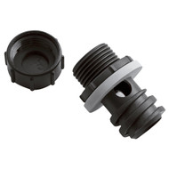 Yeti Cooler Drain Plug w/ Hose Connection