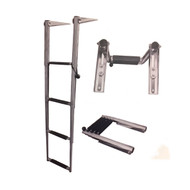 JIF Marine 4 Step Slide Mount Ladder