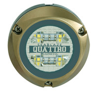 Lumitec Zambezi Quattro Surface Mount Underwater Light - White\/Blue