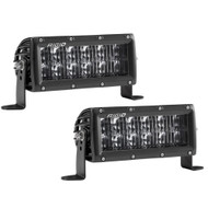 "Rigid Industries SAE Compliant E-Series 6"" Light Bar - Black"