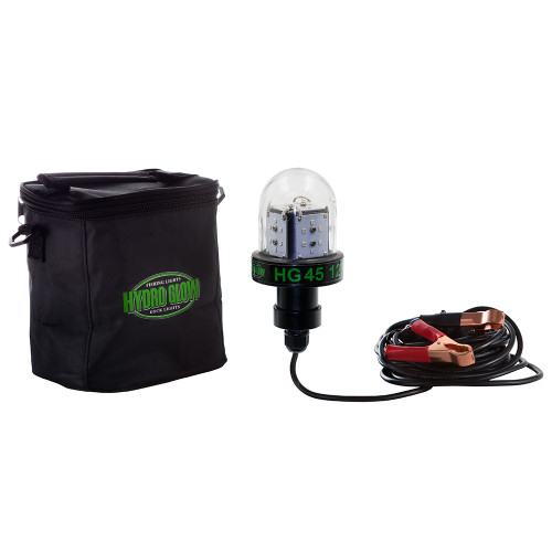 Hydro Glow HG45 45W\/12V Deep Water LED Fish Light - Green Globe Style