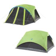 Coleman Carlsbad 4-Person Darkroom Tent w\/Screen Room