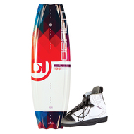 O'Brien 2180224 Siren Wakeboard w/ Nova Boots