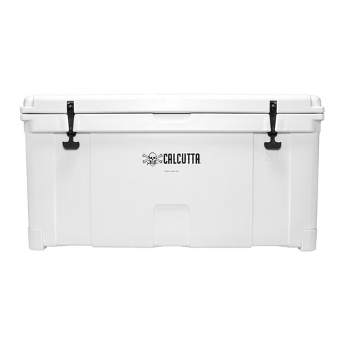 Calcutta 125L White Renegade Cooler w/Tray - White
