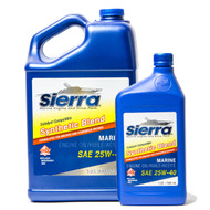 Sierra Synthetic Blend 25W-40 Catalyst Engine Oil