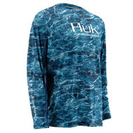 Huk Elements Bluefin Icon Long Sleeve Shirt