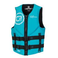 O'Brien Traditional Women's Aqua Life Jacket