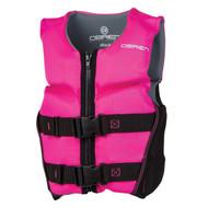 O'Brien Youth Pink V-Back Life Jacket